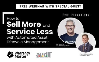 Webinar – Sell More With Automated Asset Lifecycle Management