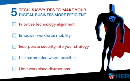 5 Tech-savvy tips to make your digital business more efficient