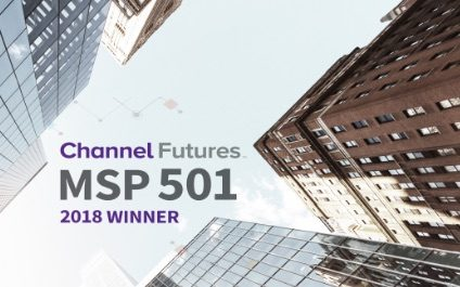 ITECH Solutions is wins a 2018 MSP 501 award!