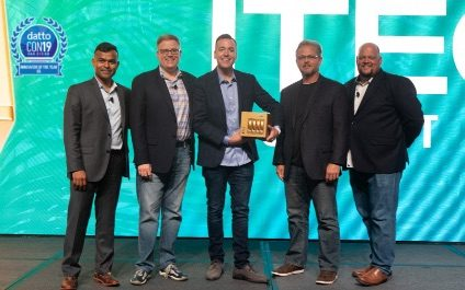 ITECH Solutions is honored with 2019 Innovator of the Year Golden Datto Award