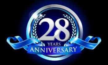 June 3rd marks IntelliSystems' 28th anniversary!