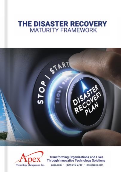 Disaster-Recovery-Maturity-Framework