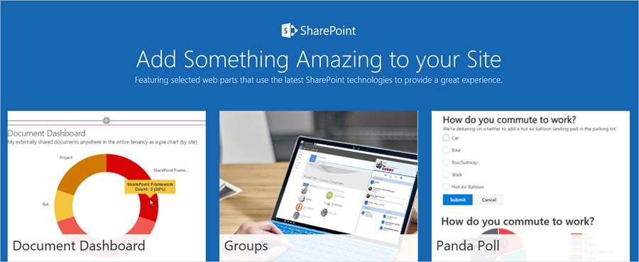 SharePoint Framework reaches general availability 2