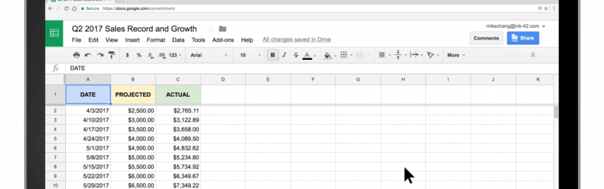 Visualize data instantly with machine learning in Google Sheets