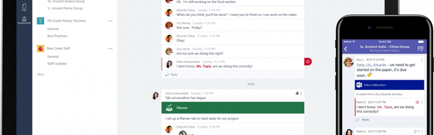 New to Office 365 in June—classroom experiences in Microsoft Teams and more