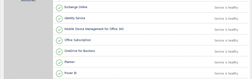 What's new in Office 365 administration—new Service health dashboard now generally available