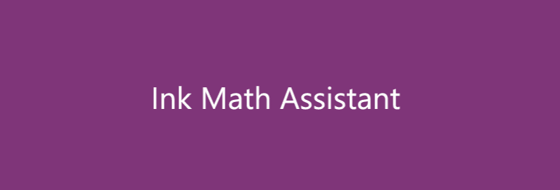 Graph math equations with Ink math assistant in OneNote for Windows 10