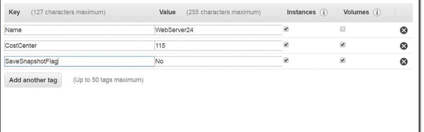 New – Tag EC2 Instances & EBS Volumes on Creation