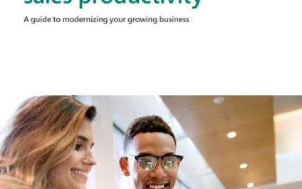6 Strategies to boost sales productivity: A guide to modernizing your growing business