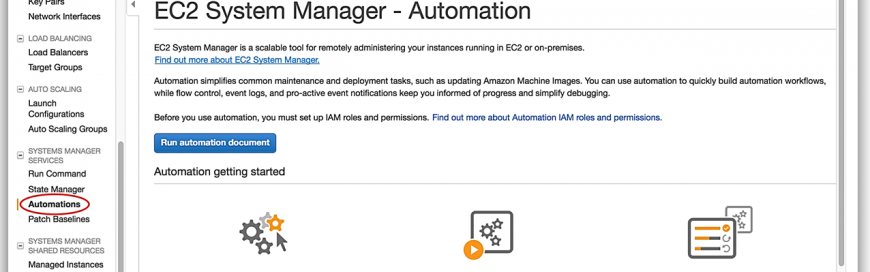 Streamline AMI Maintenance and Patching Using Amazon EC2 Systems Manager | Automation