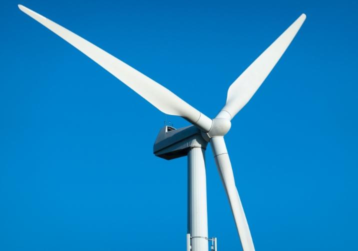 a modern windmill