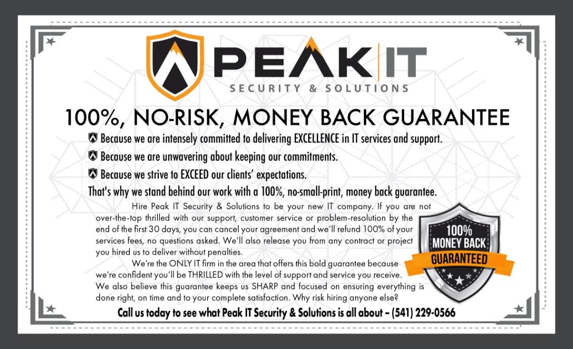 Peak-IT-Guarantee