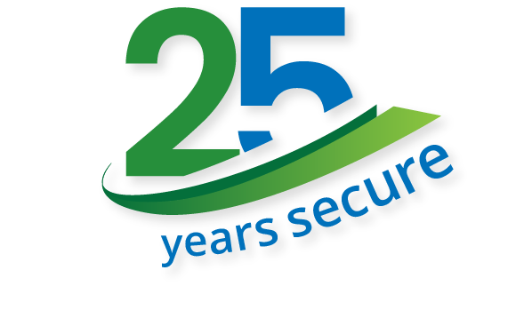 25-Years-Secure-Graphic