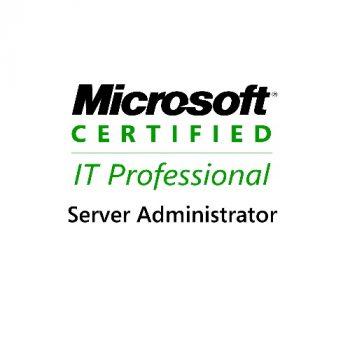 Microsoft Certified IT Professional Server Administrator (MCITP:SA)