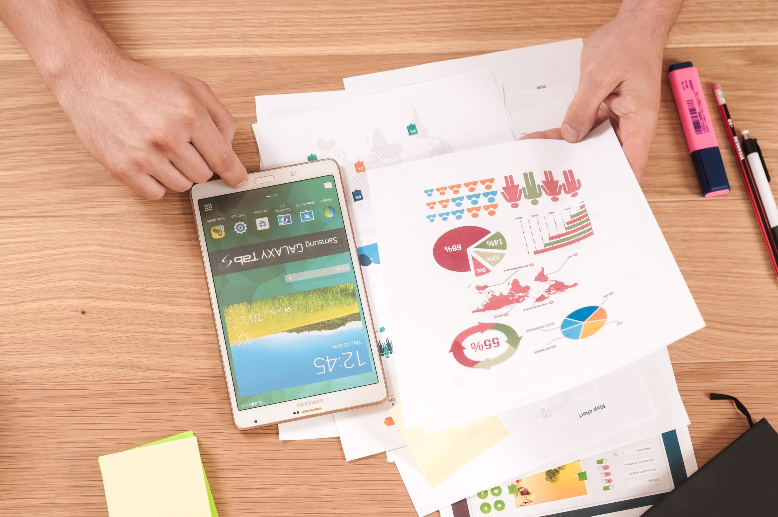 charts and graphs to show importance of financial forecasting for business owners who want to increase their company's cash flow