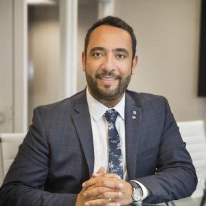 Photo of Reza Ghazi, CEO of GreenFlow Financial