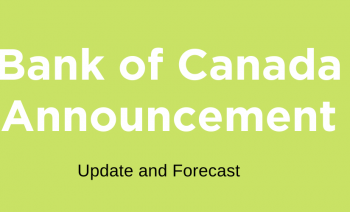 Bank of Canada Announcement