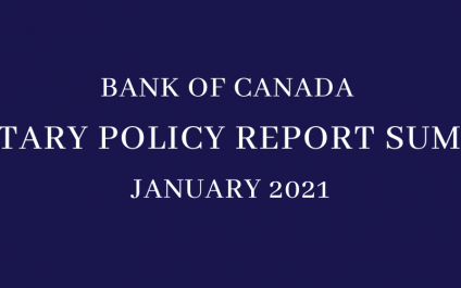Bank of Canada: Projections for 2021