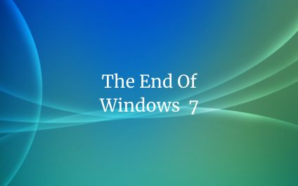 The end of the Windows 7