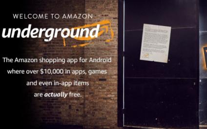 Amazon Underground, 100% Free Android Apps