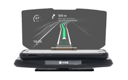 Shiny New Gadget Of The Month: VIZR Hopes To Revolutionize Your Dashboard
