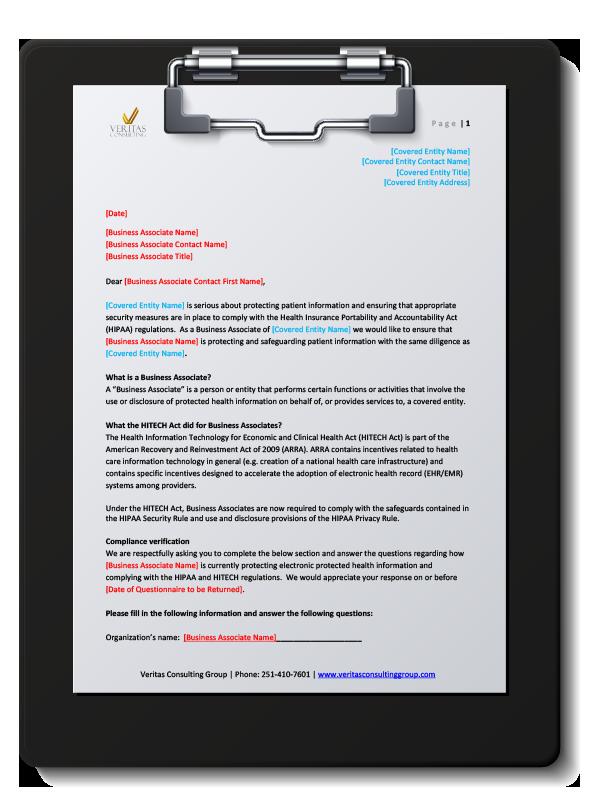 BA Compliance Checklist - Mobile, Pensacola, Robertsdale