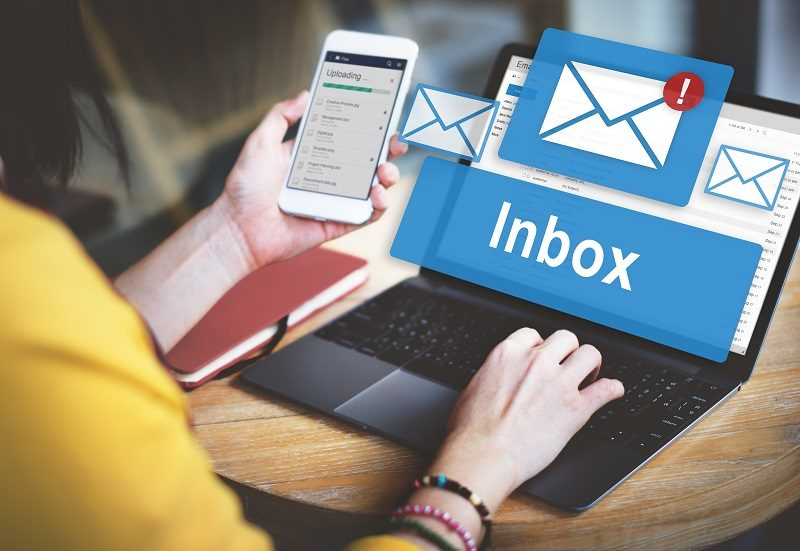 How many emails are sent per day
