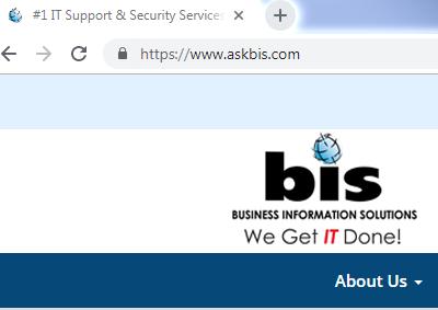 BIS Website HTTPS Example