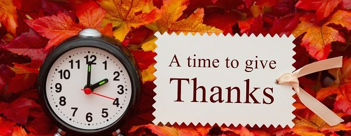 Top 5 Reasons to Be Thankful for Technology
