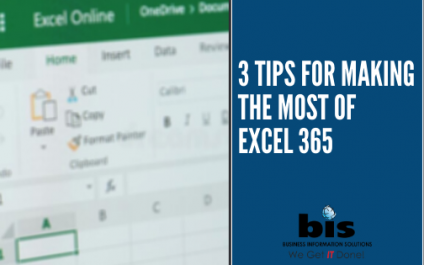 3 Tips for Making the Most of Excel 365