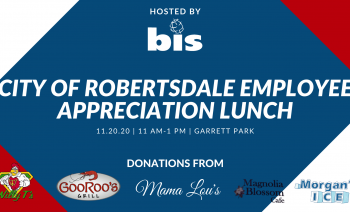 LOCAL GULF COAST BUSINESS HOSTING CITY OF ROBERTSDALE EMPLOYEE APPRECIATION EVENT