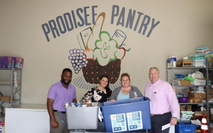 BIS PARTNERS WITH LOCAL NON-PROFIT FOOD PANTRY IN THE FIGHT AGAINST HUNGER THROUGHOUT BALDWIN COUNTY