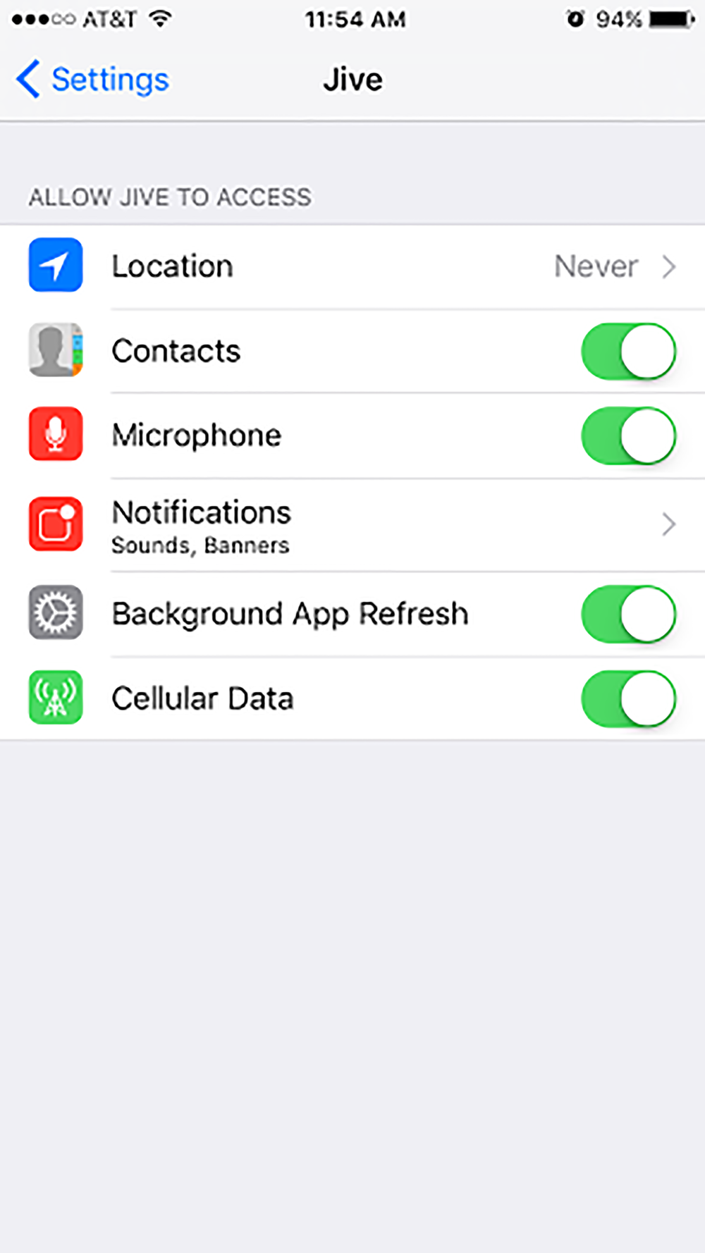 mobile-ios-settings