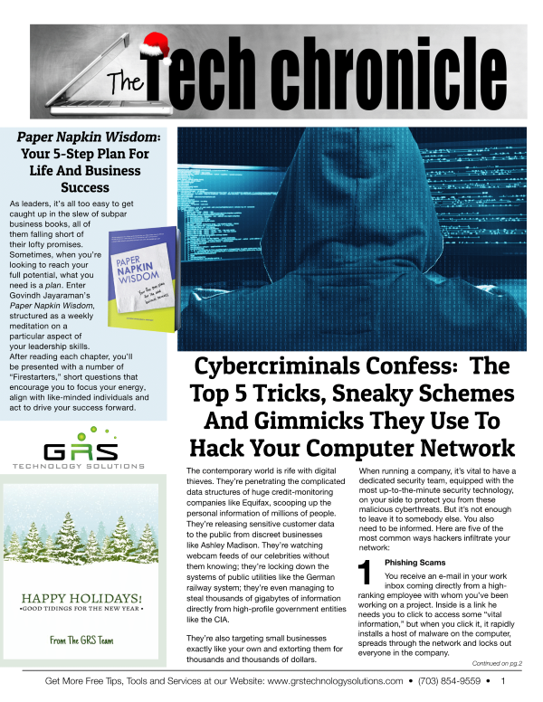 Newsletters | GRS Technology Solutions