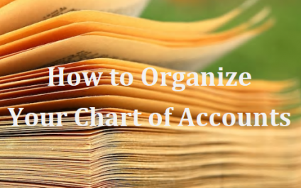 How to Organize Your Chart of Accounts