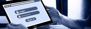Password Management Tablet