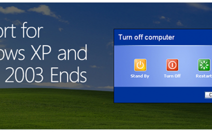 Microsoft End of Life Windows XP, Sharepoint 2003, Exchange 2003 and Office 2003
