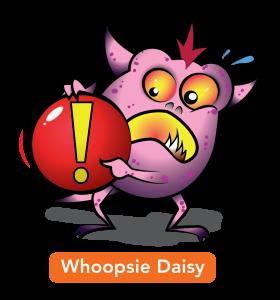 Whoopsie Daisy Gremlins