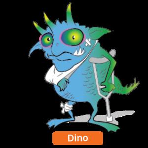 Dino Data Loss Gremlins