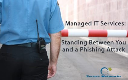 Managed IT Services: Standing Between You and a Phishing Attack