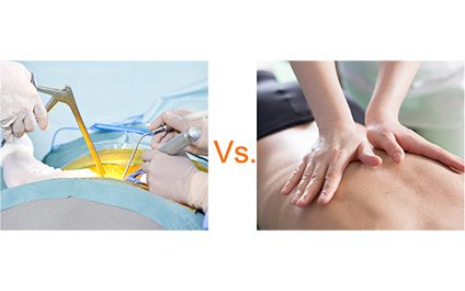 Surgical and nonsurgical spinal decompression