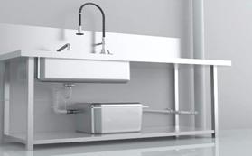 Below-Kitchen-Sink-Grease-Trap