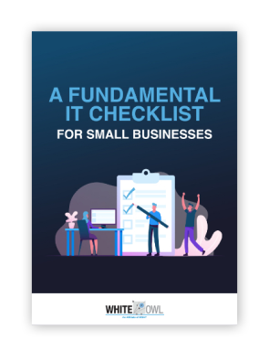 LD-WhiteOwl-A-Fundamental-IT-Checklist-for-SMB-Cover