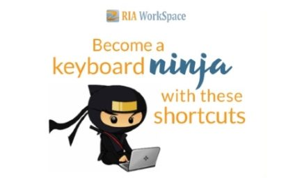 Become a keyboard Ninja with these shortcuts