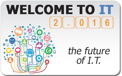 Welcome to IT 2.016