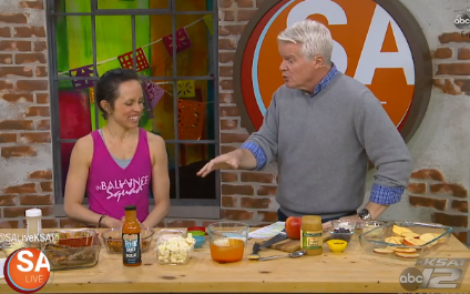 inBalance on SA Live! Superbowl Snack Makeover
