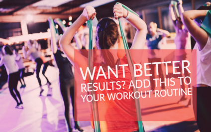 For better results, add this to your workout routine
