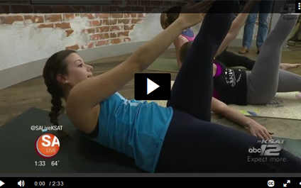 inBalance on SA Live: Exercises to get you ready for Spring Break