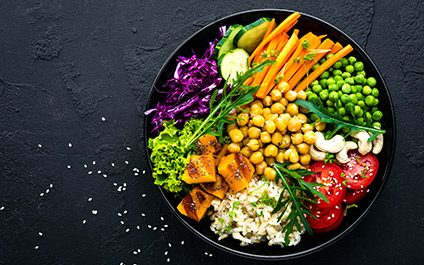 Meat free meals packed with protein