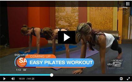 inBalance on SA Live: Pilates moves you can do at home